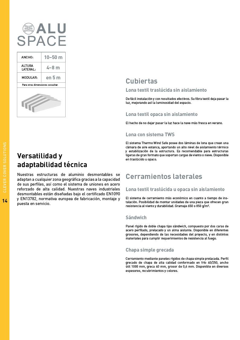 Catálogo Maxispace 14