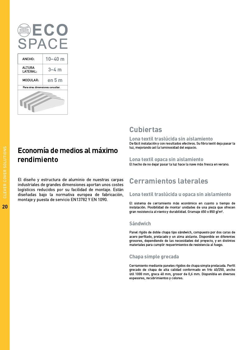 Catálogo Maxispace 20