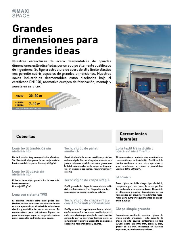 Catálogo Maxispace 6